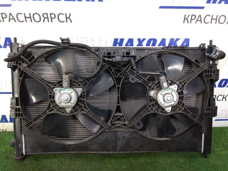 Радиатор двигателя Mitsubishi Asx GA3W 4B10 2010 1350A297, 1355A087 в сборе с диффузором и