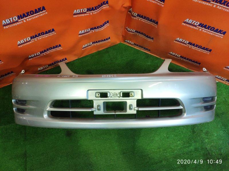 Бампер Toyota Corolla Spacio AE111 4A-FE 04.1999 передний 52119-13230 2MOD, +ЗАГЛУШКИ(НЕТ 1 ВЕРХНЕЙ ЛЕВОЙ)