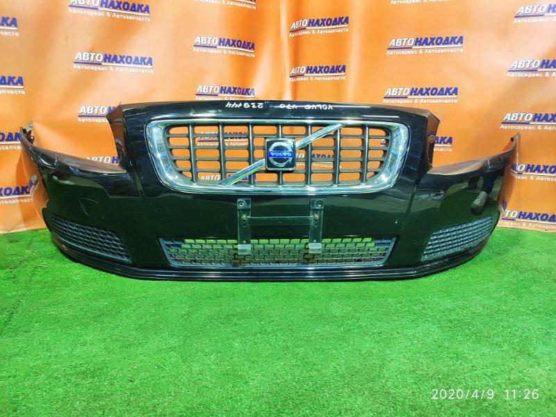 Бампер Volvo V70 BW5 B5254T6 06.2008 передний 880013653 +ОМЫВАТЕЛИ ФАР, +РЕШЕТКА, +ШВЕЛЛЕР(ПЛАСТ),
