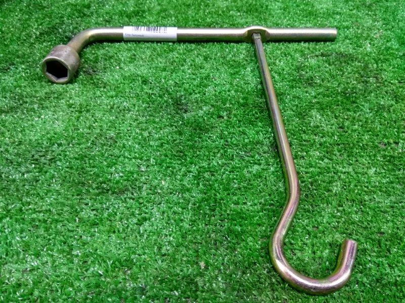 Ключ балонный ключ балонный на 19 с крюком