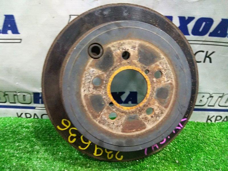 Диск тормозной Subaru Exiga YA5 EJ20-T 2008 задний задний, невентилируемый