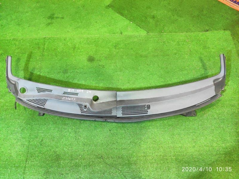 Решетка под лобовое стекло Honda Fit GD1 L13A 2MOD, ЗВОНИЛИ ИМЕННО ПО ЭТОМУ 25.04.20