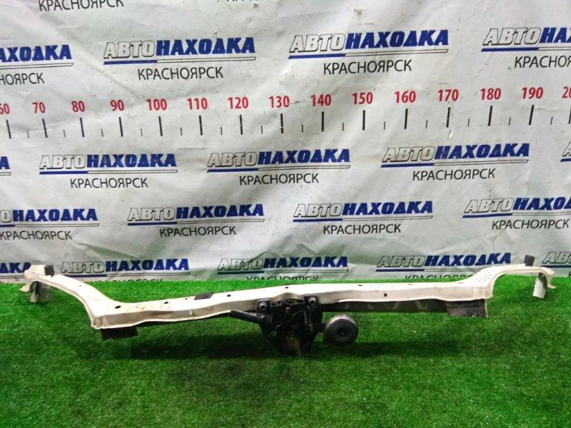 Рамка радиатора Subaru Exiga YA5 EJ20-T 2008 передняя верхняя верхняя часть рамки с замком капота +