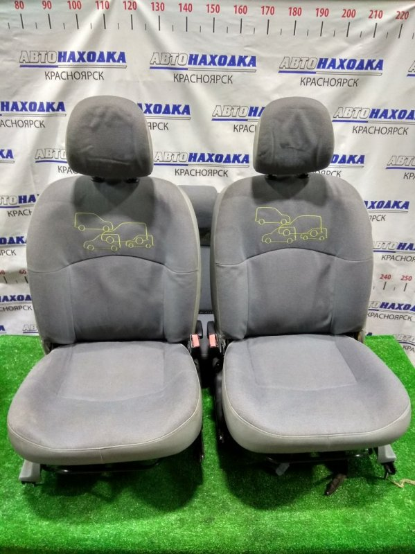 Сиденья Renault Kangoo KC K4M 2003 комплект сидений - передние + задние, комбинированные