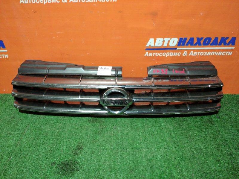 Решетка радиатора Nissan Stagea NM35 VQ25DD 2001 передняя 1 мод