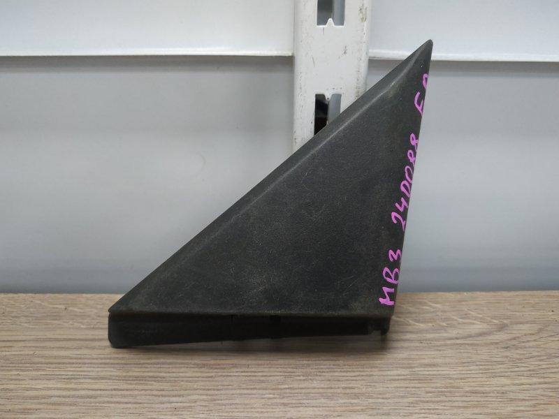 Накладка двери Honda Domani MB3 D15B передняя правая 76220-S04-9000, 76220-S04-900ZA внутренний уголок