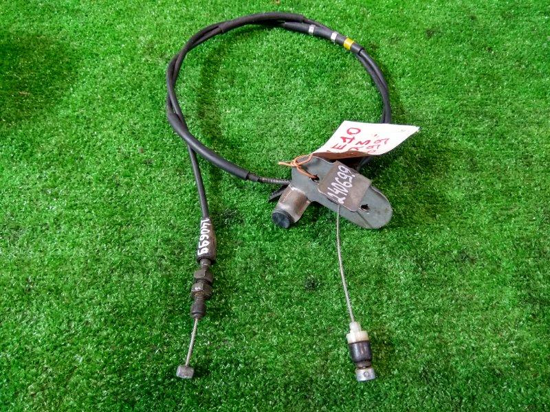 Трос газа Toyota Wish ZNE10G 1ZZ-FE 2003 78180-68011 внешняя оболочка с дефектом (протерта)