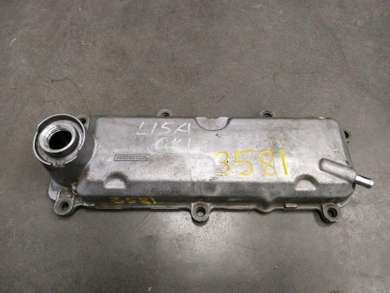 Крышка гбц Honda Mobilio Spike GK1 L15A 2002 12310-PWC-000 снята, алюм клапанная крышка