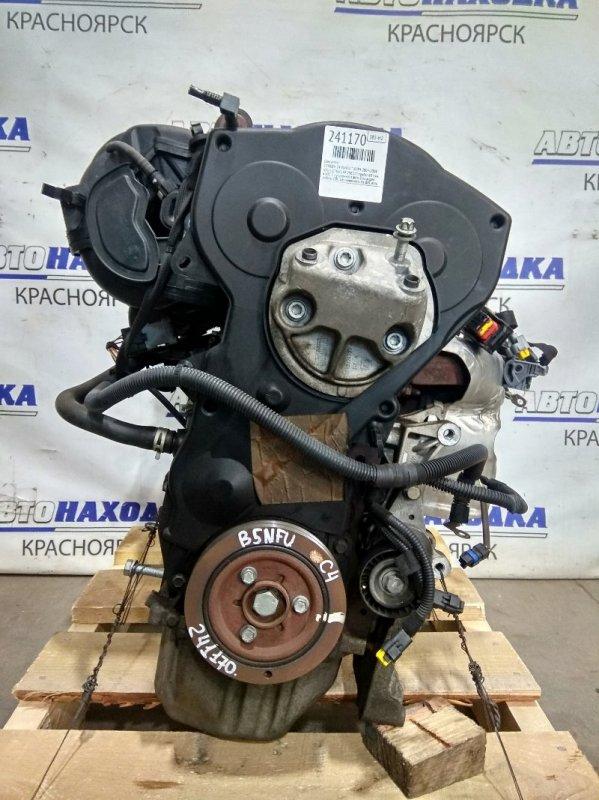 Двигатель Citroen C4 B5NFU TU5JP4 2004 296317 NFU (10FX60) № 296317 пробег 69 т.км. в ХТС. С аукционного авто.