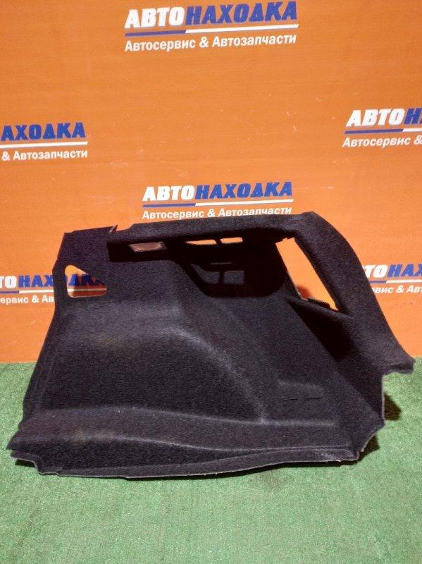 Обшивка багажника Bmw 116I E87 N43B16 2004 задняя правая 7 123 498-13 +плафон