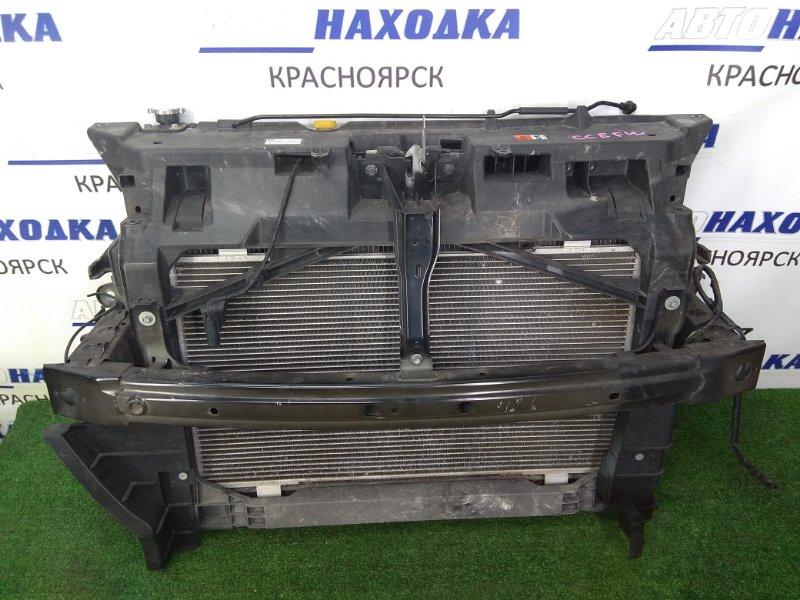 Рамка радиатора Mazda Biante CCEFW LF-VDS 2008 передняя пластиковая, в сборе с радиаторами,