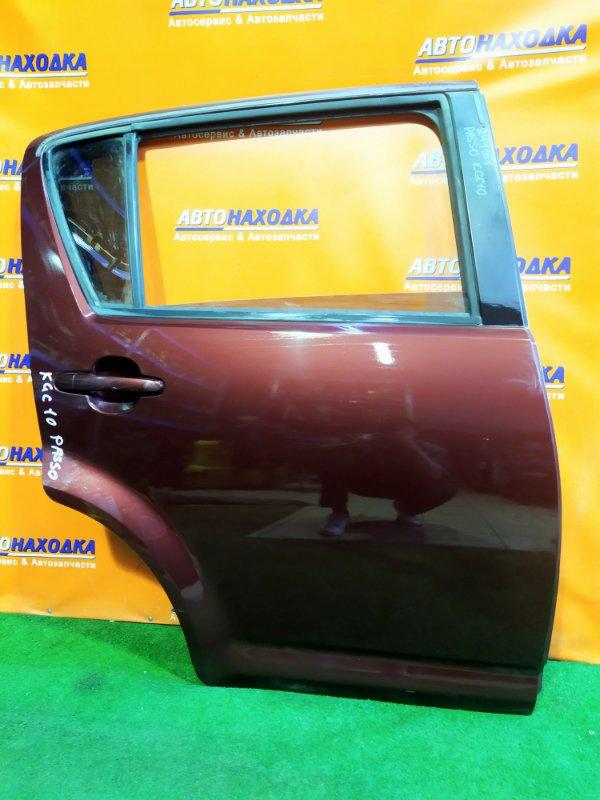 Дверь Toyota Passo KGC10 1KR-FE задняя правая