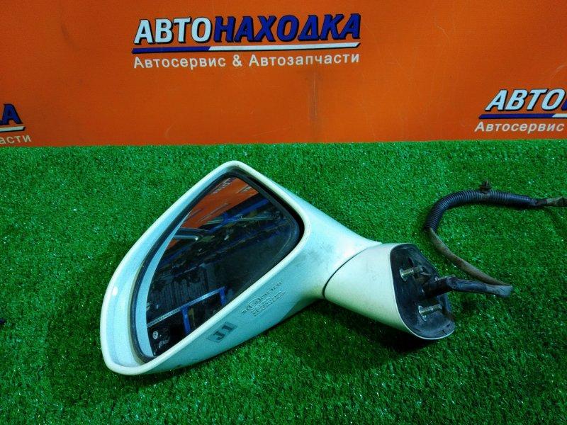 Зеркало Honda Airwave GJ1 L15A левое 012128 5 КОНТАКТОВ