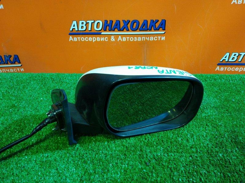 Зеркало Toyota Sienta NCP81 1NZ-FE правое 022329 7 КОНТАКТОВ, +ПОВТОРИТЕЛЬ 52158