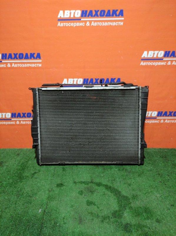 Радиатор двигателя Bmw 116I E87 N43B16 2004 А/Т 1 диффузор+1 вентилятор+радиатор АКПП