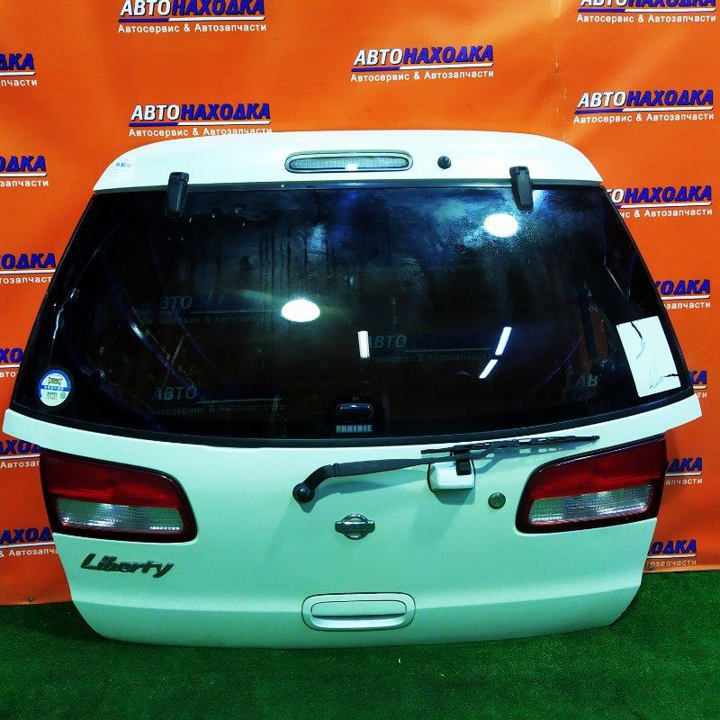 Дверь задняя Nissan Liberty RM12 QR20DE 4853 +МЕТЛА, +КАМЕРА,