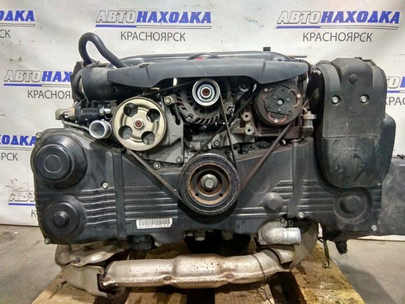 Двигатель Subaru Exiga YA5 EJ20-T 2008 D575911 EJ205 (турбо) № D575911 пробег 92 т.км. 2008 г.в. 2 мод. В СБОРЕ.