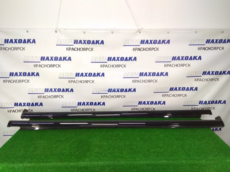 Порог Mazda Biante CCEFW LF-VDS 2008 C33051P40, C33051P50 пара, левый + правый, черный (A3F)