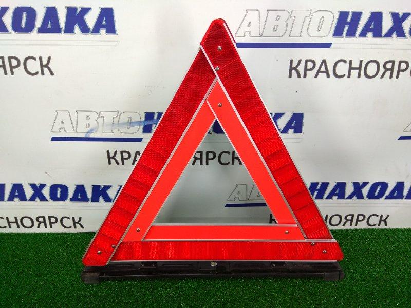 Знак аварийной остановки Toyota Carina AT211 7A-FE 1997 штатный знак аварийной остановки