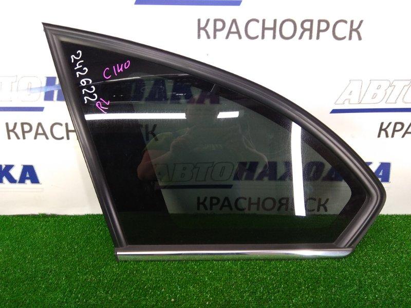 Стекло собачника Chevrolet Captiva C140 A24XE 2011 заднее левое заднее левое, заводская тонировка, с