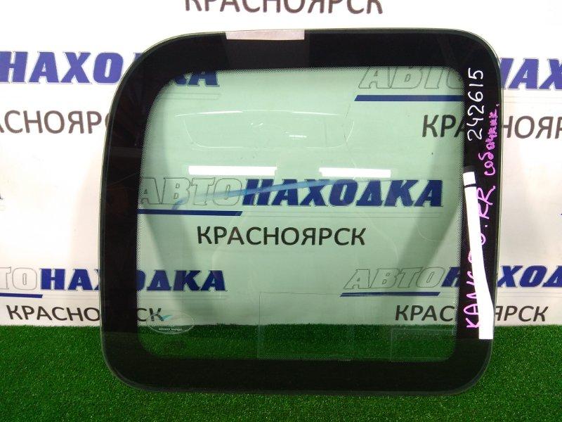 Стекло собачника Renault Kangoo KC K4M 2003 заднее правое заднее правое