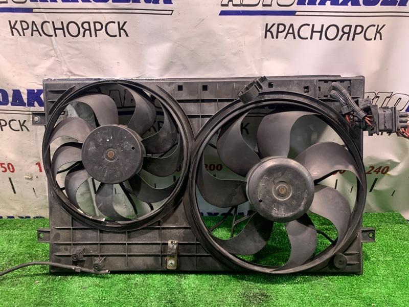 Вентилятор радиатора Audi Tt 8N APP 1998 диффузор с двумя вентиляторами. У маленького