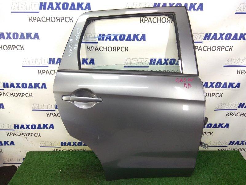 Дверь Mitsubishi Asx GA3W 4B10 2010 задняя правая задняя правая, в сборе, серая (U17C), в целом ХТС,