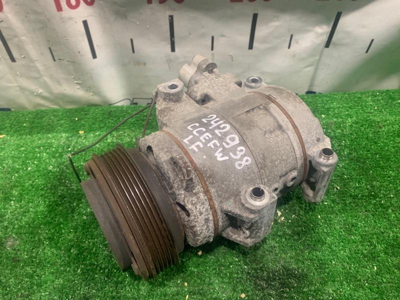 Компрессор кондиционера Mazda Biante CCEFW LF-VDS 2008 C273-61-450A пробег 91 т.км. ХТС. С аукционного