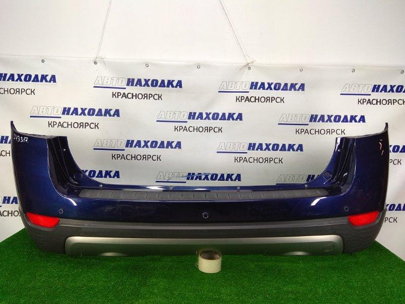 Бампер Chevrolet Captiva C140 A24XE 2011 задний 96623473 задний, 1 и 2 модель (2006-2013г.), сонары, с