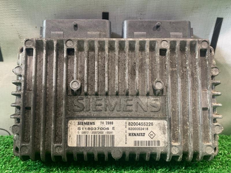Компьютер Renault Kangoo KC K4M 2003 TA2800, S118037006E, 8200455226, 8200052418 блок управления АКПП