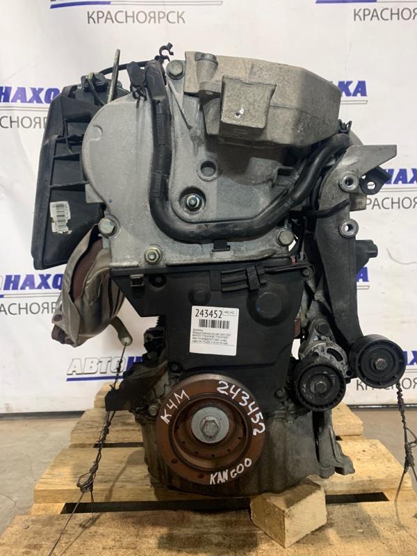 Двигатель Renault Kangoo KC K4M 2003 B697077, 7701474587 K4M 753 № B697077 2005 г.в. без навесного. На ДВС есть
