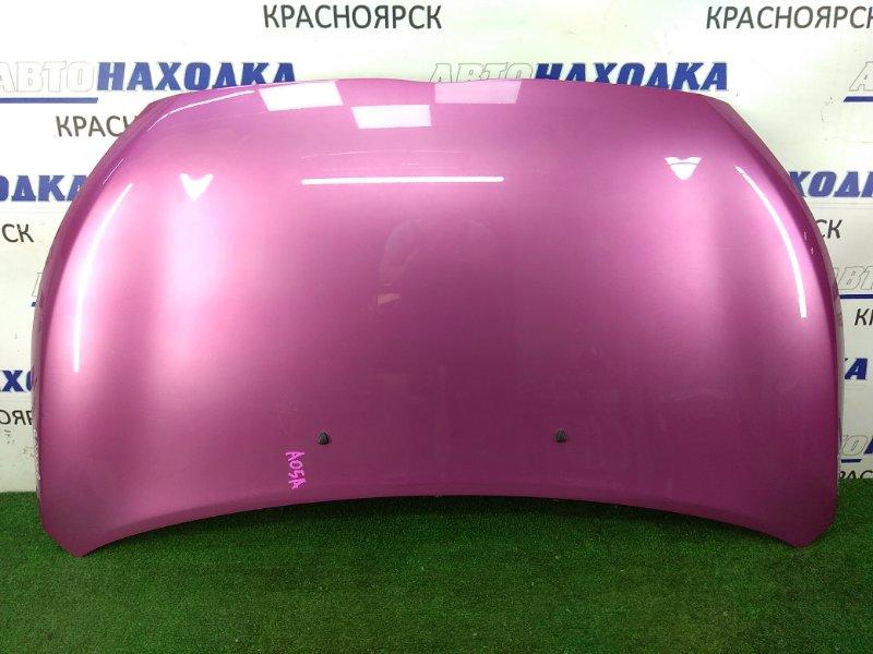 Капот Mitsubishi Mirage A05A 3A90 2012 ХТС, розовый (V08A),