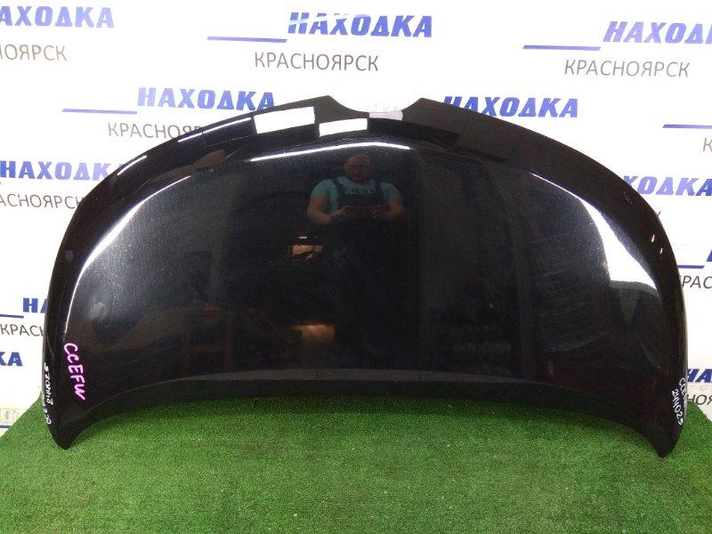 Капот Mazda Biante CCEFW LF-VDS 2008 ХТС, черный (A3F)
