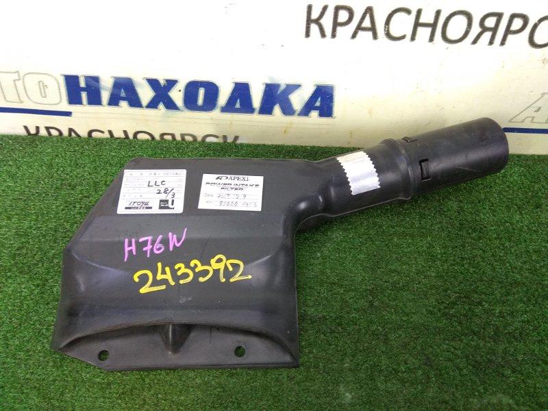 Воздухозаборник Mitsubishi Pajero Io H76W 4G93 1998 на рамку радиатора