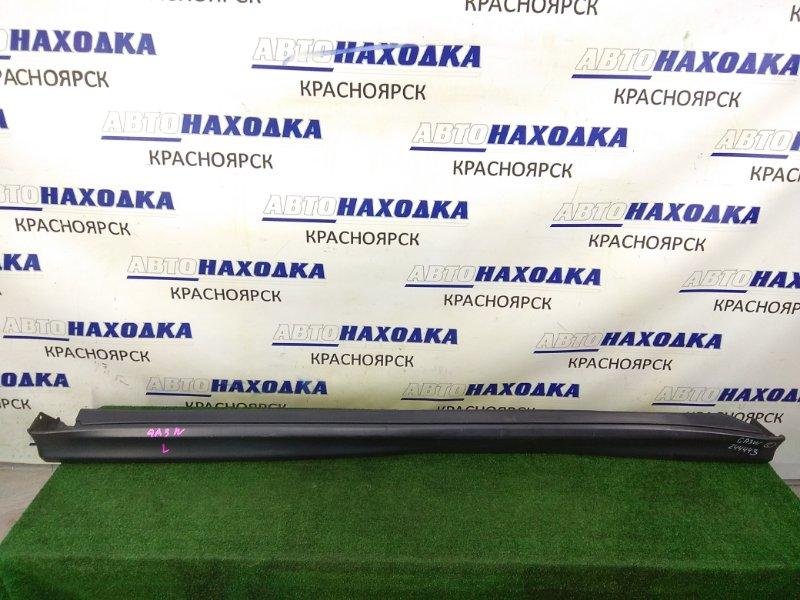 Порог Mitsubishi Asx GA3W 4B10 2010 левый 6512A387ZZ-01 левый, некрашеный