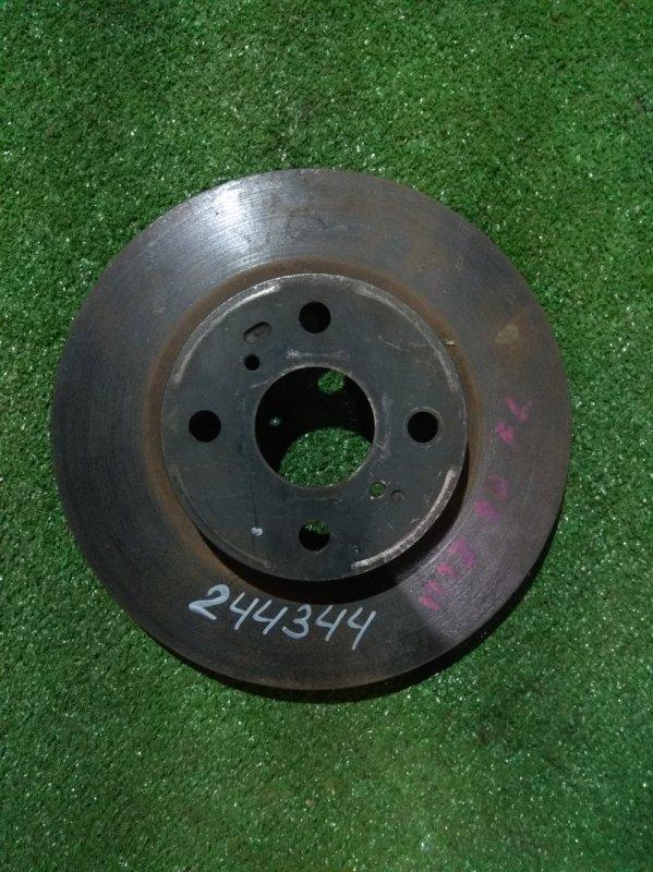 Диск тормозной Toyota Vitz KSP90 1KR-FE передний RN1309V Ф255, T22, 4 ШПИЛЬКИ, VITZ KSP90,
