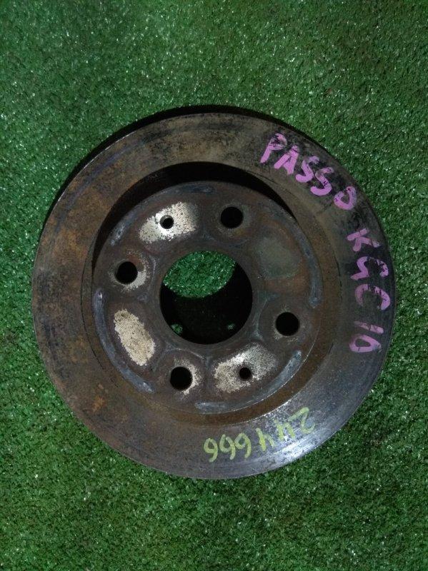 Диск тормозной Toyota Passo KGC1# 1KR-FE передний RN1481V Ф234, T16, 4 ШПИЛЬКИ, PASSO KGC10,