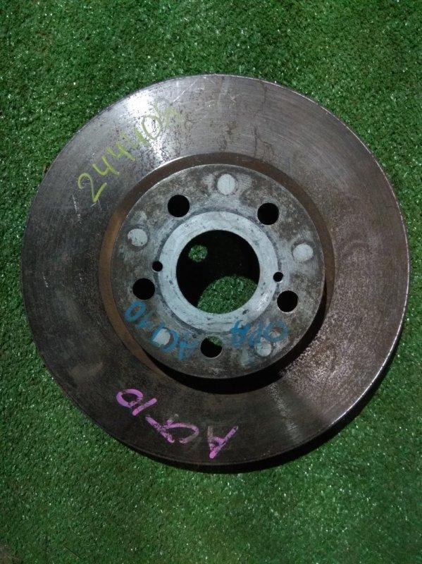 Диск тормозной Toyota Will Vs ZZE128 1AZ-FSE передний RN1142V Ф275, T25, 5 ШПИЛЕК, OPA ACT10