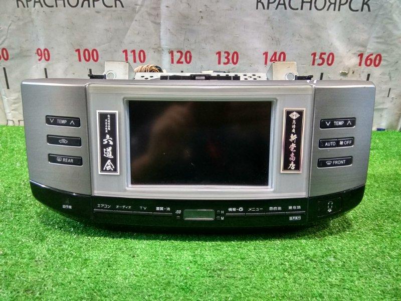 Монитор Toyota Mark X GRX121 3GR-FSE 2004 86111-22050 монитор с центральной консоли + блок