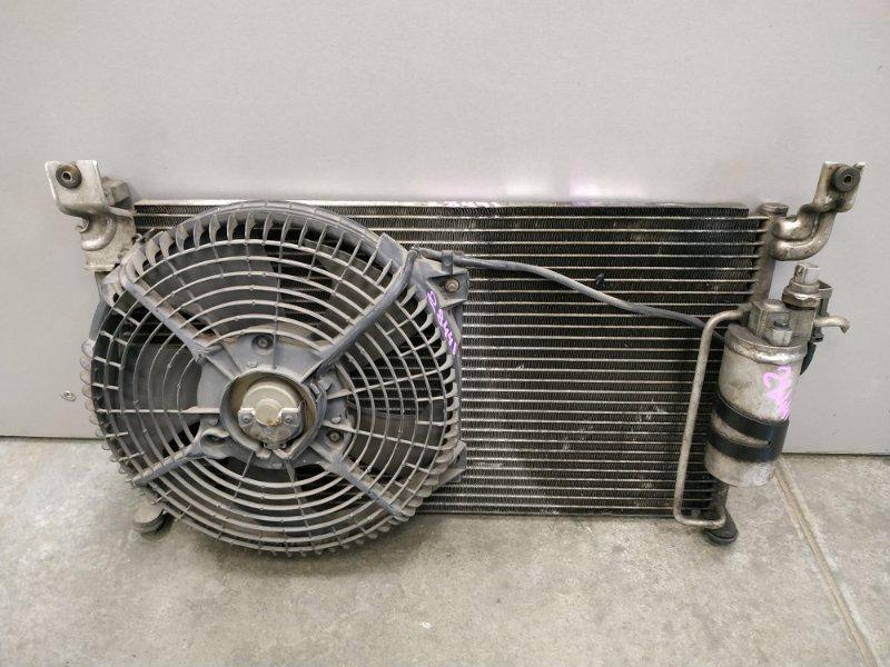 Радиатор кондиционера Suzuki Cultus GC41W J18A 1996 С вентилятором кондиционера