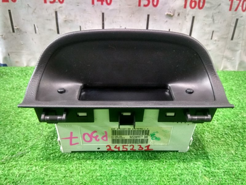 Монитор Peugeot 307 3A/C TU5JP4 2001 9652809977 Дисплей информационный, с фишкой