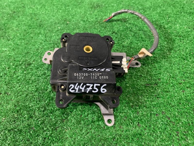 Привод заслонок отопителя Toyota Nadia SXN15 3S-FE 2001 063700-7430 7 контактов
