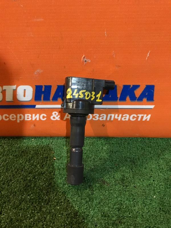 Катушка зажигания Honda Airwave GJ1 L15A 2005 CM11-110 23т.км сломано ухо
