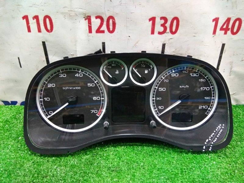 Щиток приборов Peugeot 307 3A/C TU5JP4 2001 9651299580 под АКПП, пробег 34 т.км., с фишкой, дефект