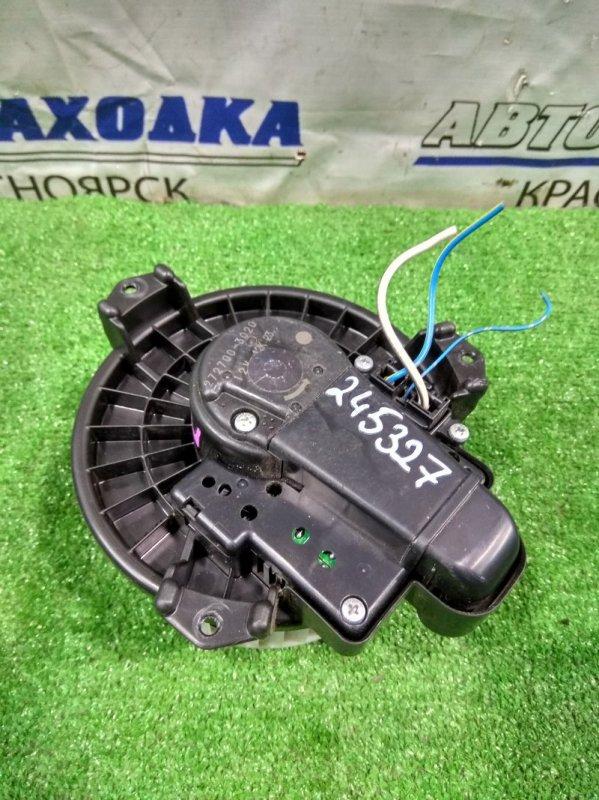 Мотор печки Toyota Passo Sette M502E 3SZ-VE 2008 272700-3020 3 контакта, с встроенным реостатом