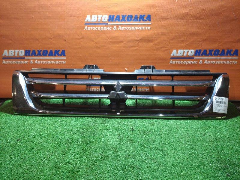 Решетка радиатора Mitsubishi Pajero Mini H58A 4A30T 1998 1 мод хтс