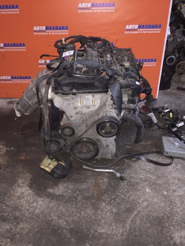 Двигатель Mazda Atenza GG3S L3 2003 537412 ХТС, 75т.км коллектора,датчики,форсунки,шкив