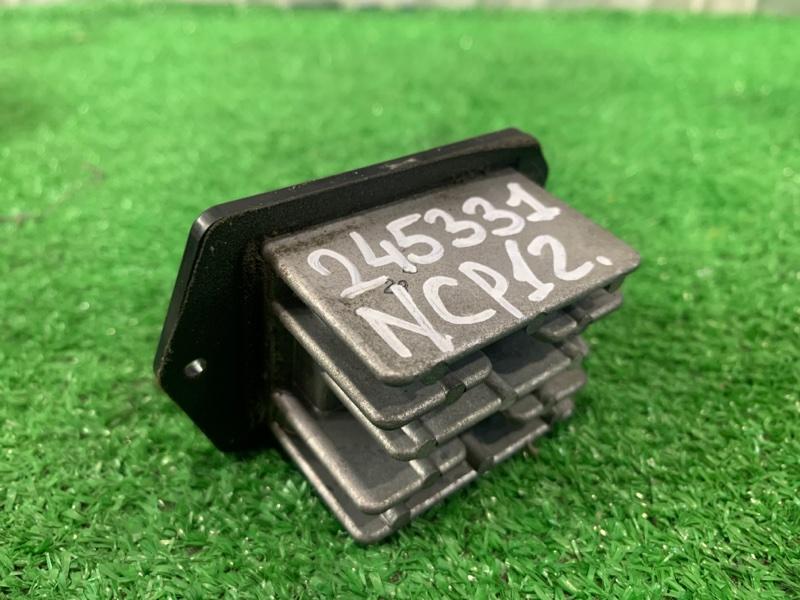Реостат печки Toyota Platz NCP12 1NZ-FE 1999 077800-0620 4 контакта
