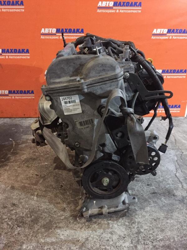 Двигатель Toyota Sienta NCP81G 1NZ-FE 2003 D555576 ХТС, 2мод 63т.км без катушек,компрессора