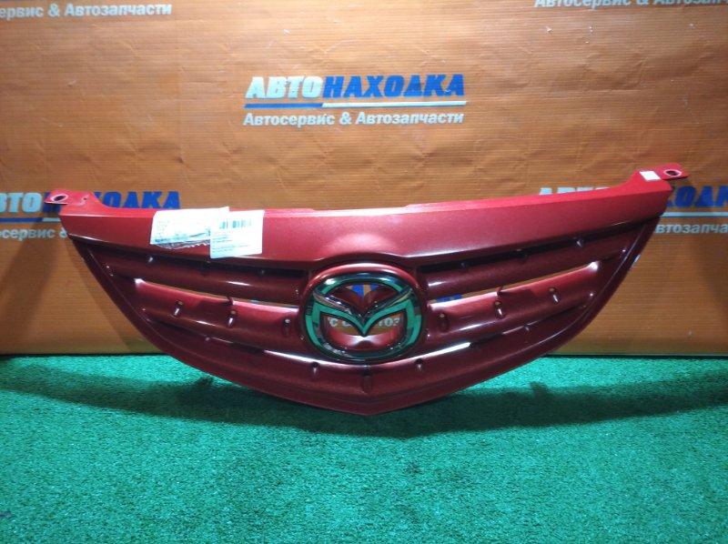 Решетка радиатора Mazda Atenza GY3W L3-VE 2002 хтс лом крепления